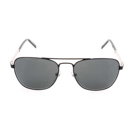MB649S 02A Sunglasses // Matte Black