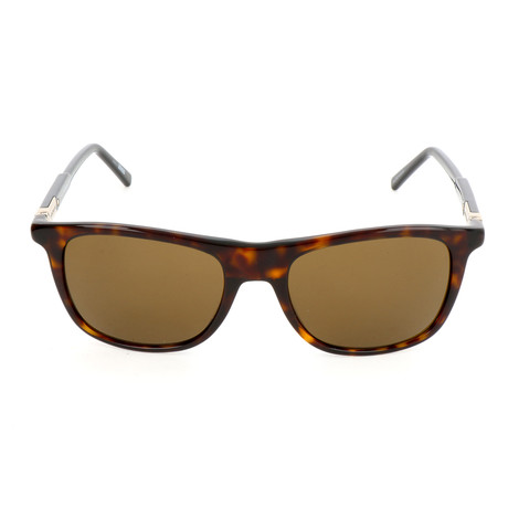 MB647S 52J Sunglasses // Dark Havana