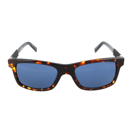MB646S 55V Sunglasses // Coloured Havana