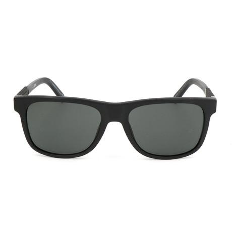 Montblanc // MB654S 02A Sunglasses // Matte Black