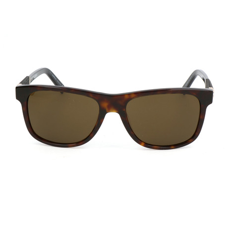 Montblanc // MB654S 52J Sunglasses // Dark Havana