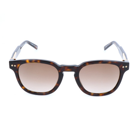 MB693S 52F Sunglasses // Dark Havana