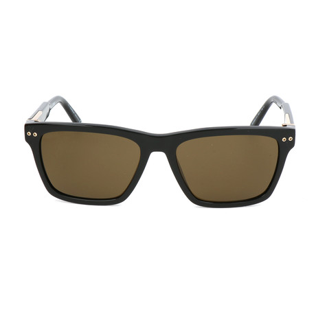 MB694S 01J Sunglasses // Shiny Black