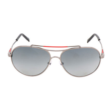 MB703S 08D Sunglasses // Shiny Gunmetal