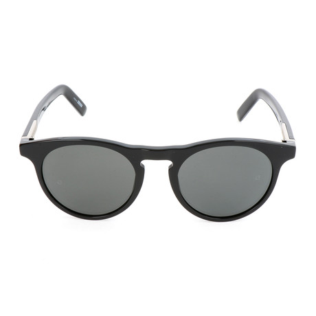 MB718S 01A Sunglasses // Shiny Black