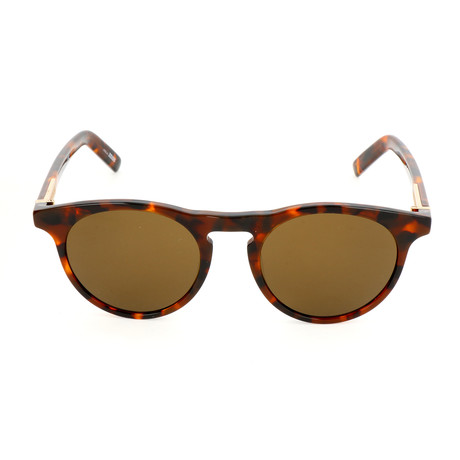 MB718S 52J Sunglasses // Dark Havana