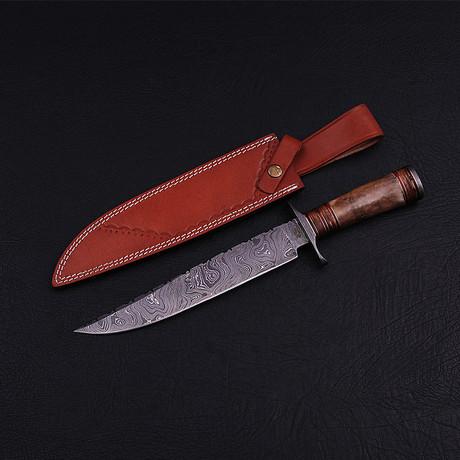 Damascus Bowie Knife // BK0248