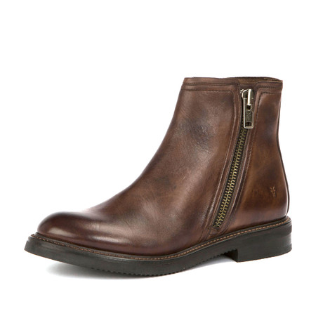 Gordon Boot + Outside Zipper // Dark Brown (US: 7)