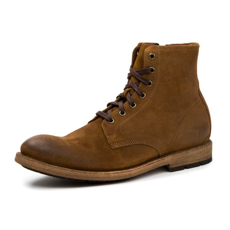 Bowery Lace Up Boot // Wheat (US: 7)
