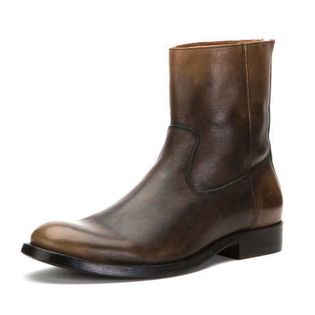 Jacob Boot + Back Zipper // Stone (US: 7)