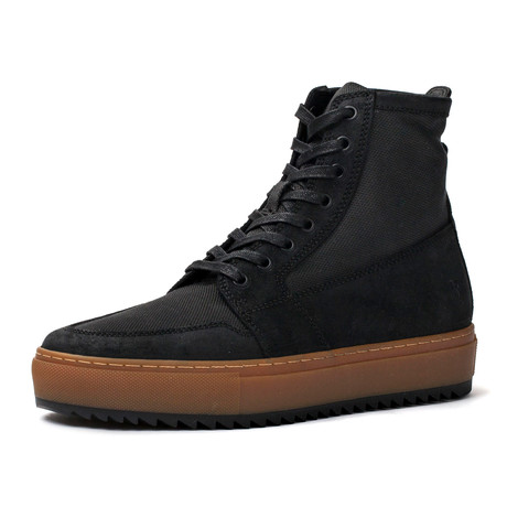 Rivington High Top Sneaker // Black (US: 7)