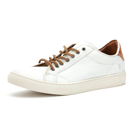 Walker Low Top Laced Sneaker // White (US: 7)