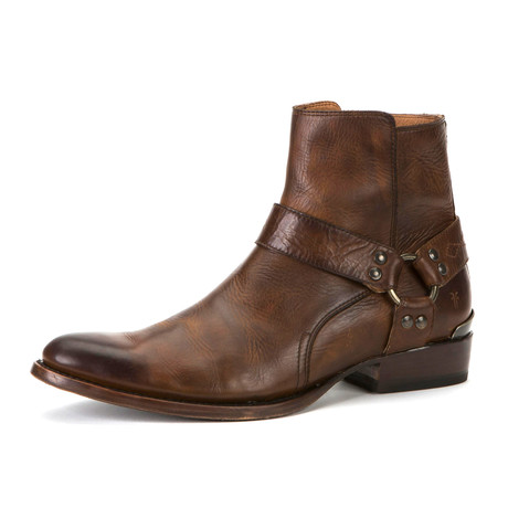 Austin Boot + Inside Zipper // Dark Brown (US: 7)
