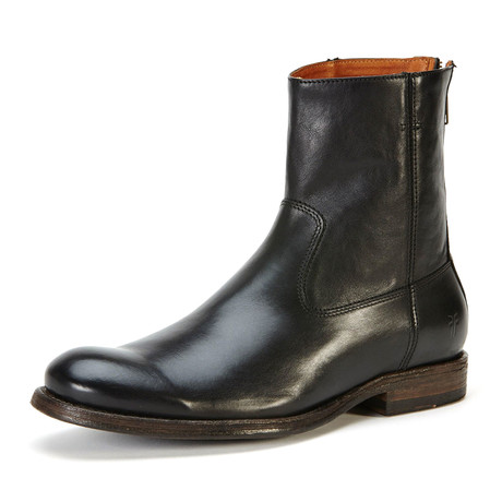 Jacob Boot + Back Zipper // Black (US: 7)
