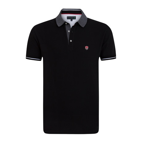 Knickers Short Sleeve Polo // Black (XS)