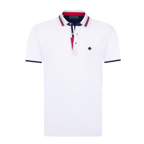 Ground Short Sleeve Polo // White (XS)