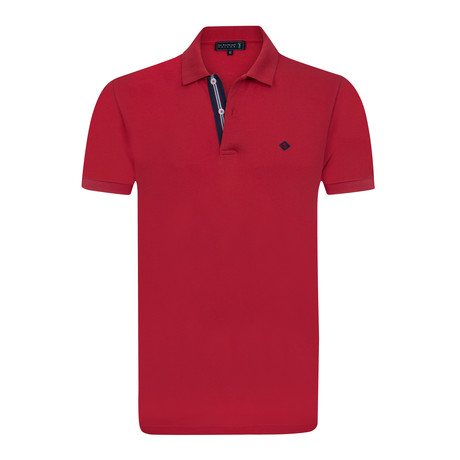 Compliment Short Sleeve Polo // Red (XS)