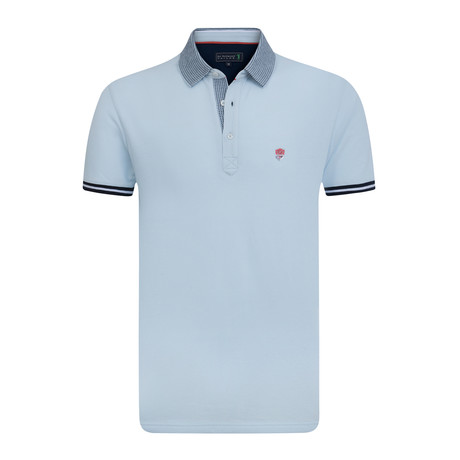 Knickers Short Sleeve Polo // Baby Blue (XS)