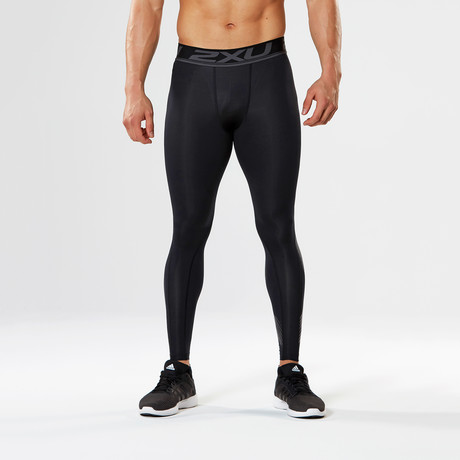 Accelerate Compression Tights // Black (XS)