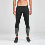 Reflect Run Tights + Back Storage // Black (L-TALL)