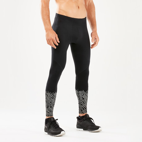 Wind Defense Compression Tights // Black (XS)