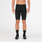 Compression Cycle Shorts // Black (L)