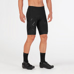 Compression Cycle Shorts // Black (XL)