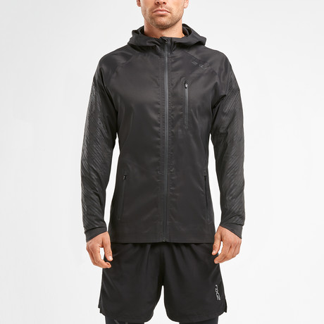 Heat Lightweight Membrane Jacket // Black (XS)