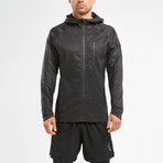 Heat Lightweight Membrane Jacket // Black (L)