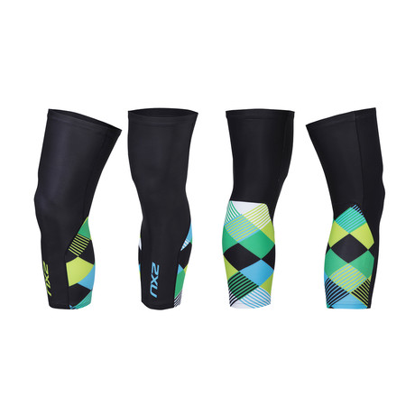 Thermal Cycle Knee Warmers // Multicolor (XS)