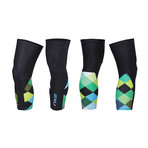 Thermal Cycle Knee Warmers // Multicolor (2XL)