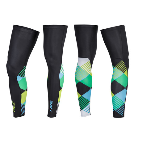Thermal Cycle Leg Warmers // Multicolor (XS)