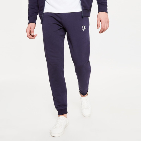 Jogger Bottoms // Blue Ink (XS)