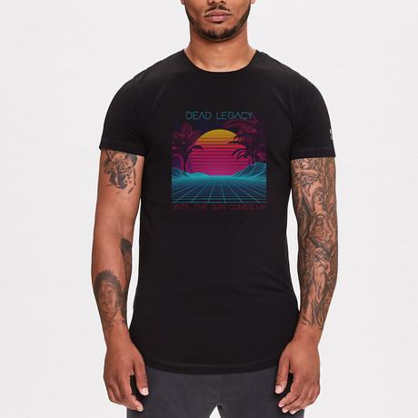 Kahanamoku Beach Legacy Printed T-Shirt // Black (XS)