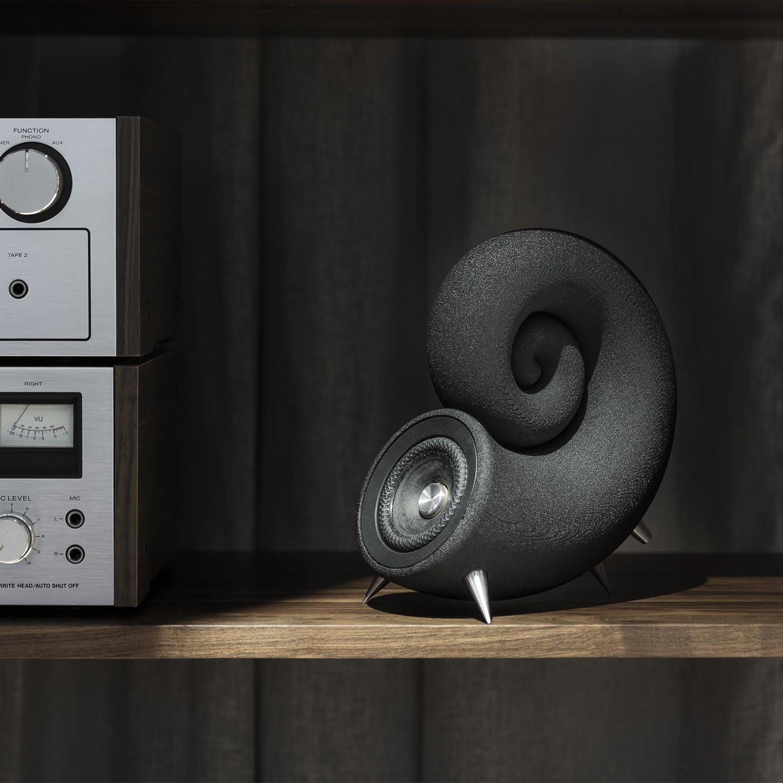 3D Printed Spirula Speakers