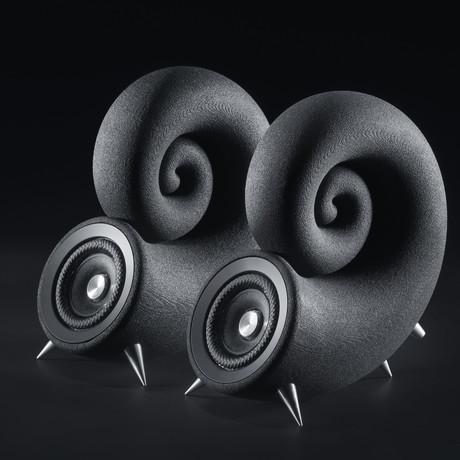 Spirula Speakers // No Cables
