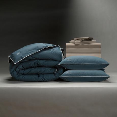 Classic Cool + Crisp Perfect Bedding Bundle // Down Alt Gel Fiber // Sandy Taupe (Full)