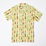 Moani Retro Hawaiian Shirt // Tiki Chimes (L)