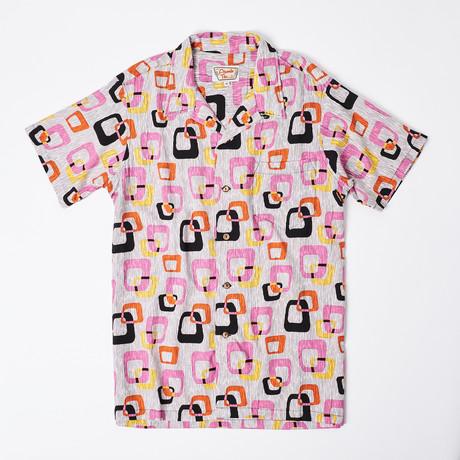 Kai Retro Hawaiian Shirt // 60s Window (S)