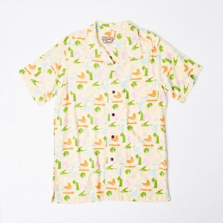 Maui Retro Hawaiian Shirt // Galactic Cocktail (S)
