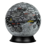 National Geographic // Moon Globe // Illuminated