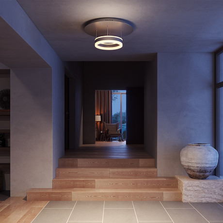 EUROPA Series // WiFi-Enabled Color-Changing LED Fixture // Aluminum