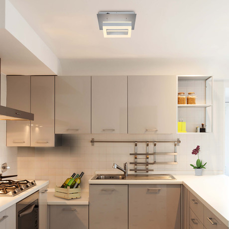 CALLISTO Series // WiFi-Enabled Color-Changing LED Fixture // Aluminum