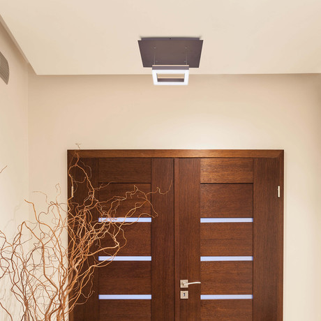 CALLISTO Series // WiFi-Enabled Color-Changing LED Fixture // Bronze