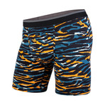Classic Boxer Brief // Tiger Teal + Orange (XS)