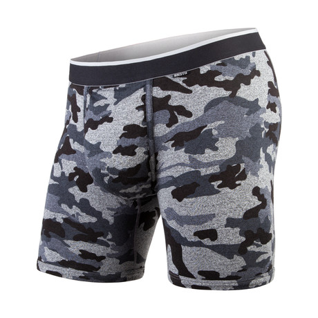 Classic Boxer Brief // Heather Camo Black (XS)