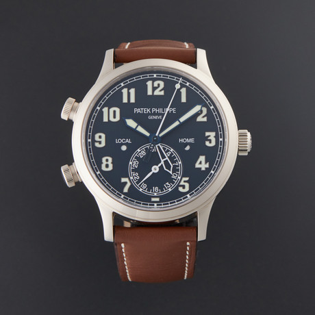 Patek Philippe Grand Complications Calatrava Pilot Travel Time Automatic // 5524G-001 // Pre-Owned
