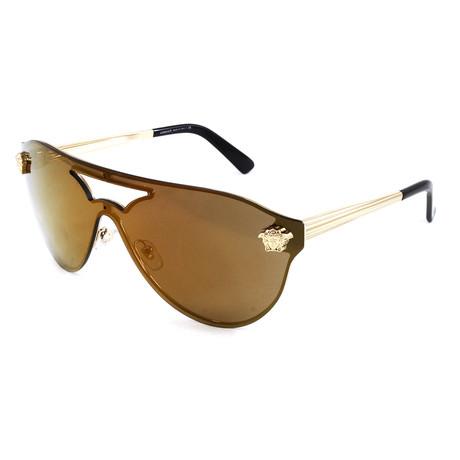 Unisex VE2161 Sunglasses // Gold