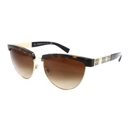 Unisex VE2169 Sunglasses // Havana + Pale Gold