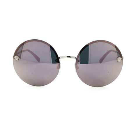 VE2179 Sunglasses // Silver